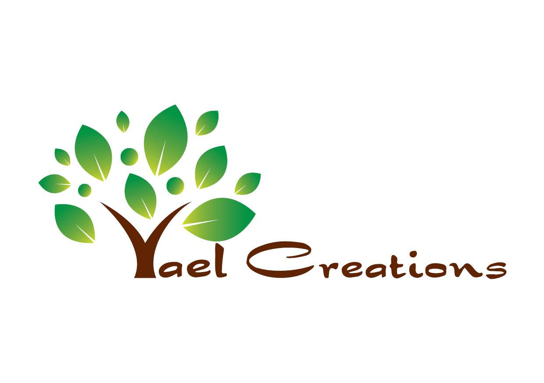 עיצוב לוגו יעל אמנות בעץ