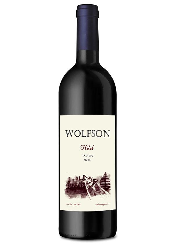 עיצוב תווית יין
