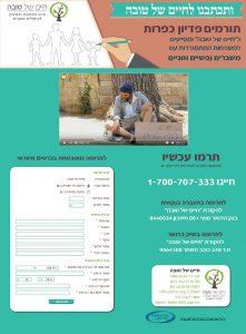 עיצוב דף סליקה לפדיון כפרות