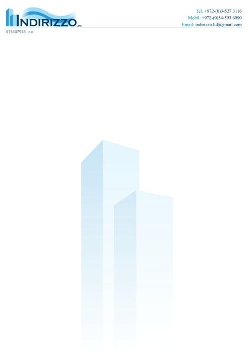 עיצוב דף לוגו נדלן